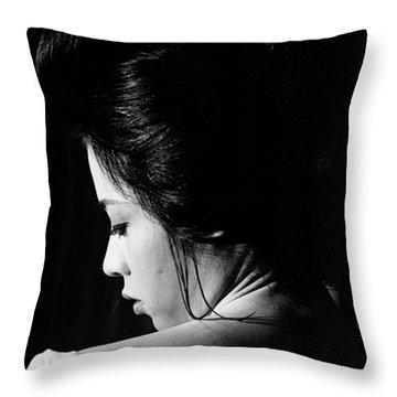Ayako Wakao Throw Pillow