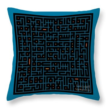 Ayat Ul-kursi03 Throw Pillow