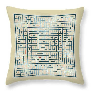 Ayat Ul-kursi04 Throw Pillow