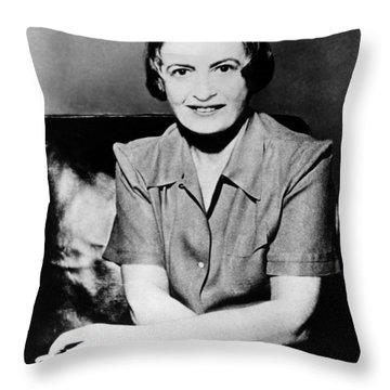 Ayn Rand Throw Pillows