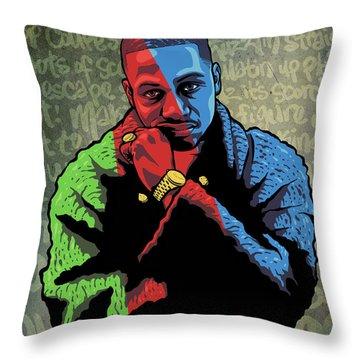 Az The Visualizer Throw Pillow