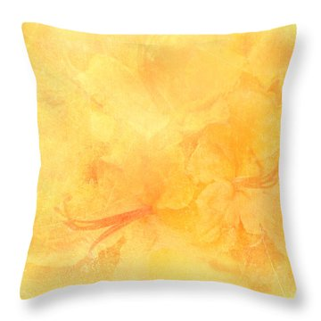 Azalea Impressions Throw Pillow