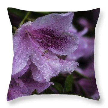 Azalea In Bloom Throw Pillow