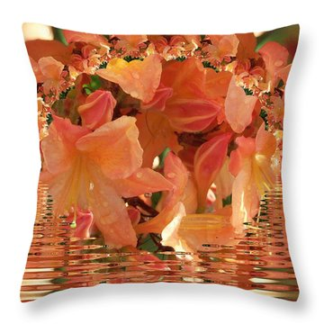 Azalia Dreams Throw Pillow