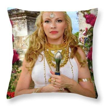 Azna Throw Pillow