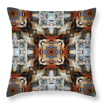 Aztec Dream Throw Pillow