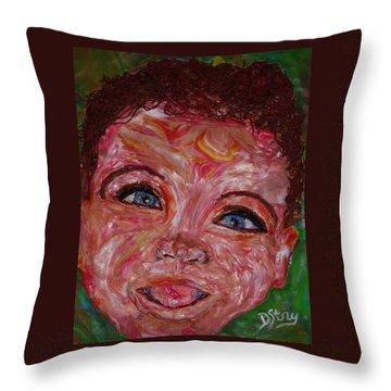 Azuriah Throw Pillow
