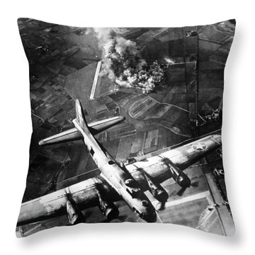 Flying Throw Pillows