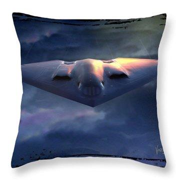 B-2 Spirit No. 1 Throw Pillow