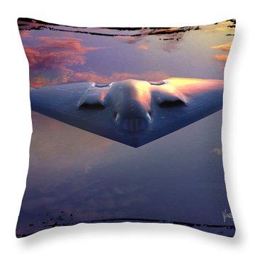 B-2 Spirit No. 3 Throw Pillow