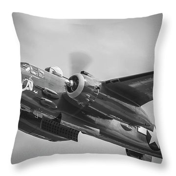 B-25 Throw Pillow