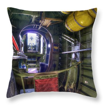 B-24 Throw Pillow