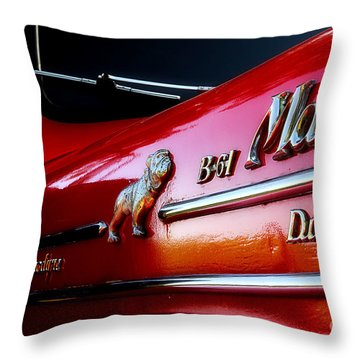 B 61 Mack Truck Throw Pillow