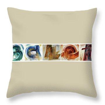 B A Ll E T Throw Pillow