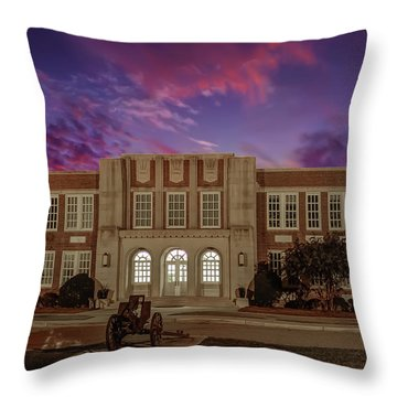 B C H S At Dusk Throw Pillow
