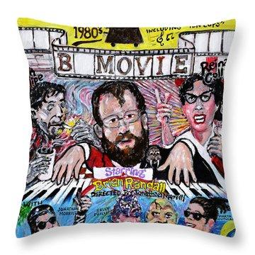 B Movie Throw Pillow