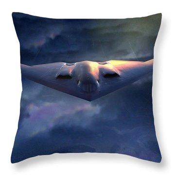 B2 Spirit Throw Pillow