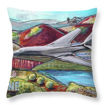 B1-the Bone Throw Pillow