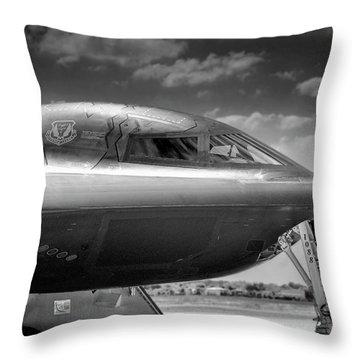 B2 Spirit Bomber Throw Pillow