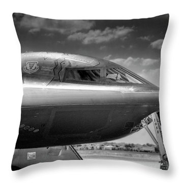 B2 Spirit Bomber Throw Pillow