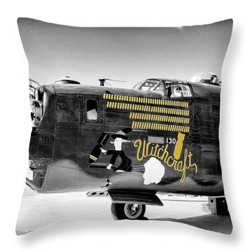 B24 Witchcraft Throw Pillow