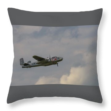 B25j Mitchell Throw Pillow