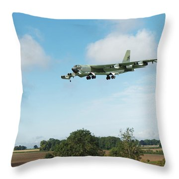 B52 Stratofortress Throw Pillow