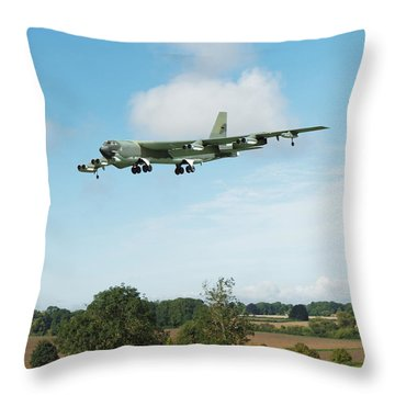 B52 Stratofortress Throw Pillow