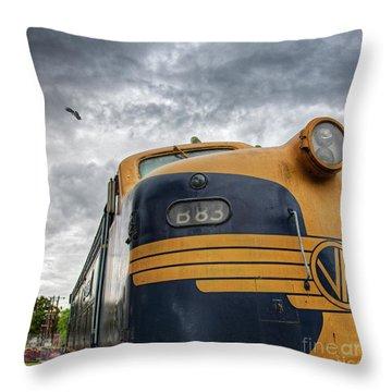B83 Throw Pillow