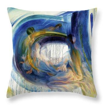 B-a-llet Throw Pillow