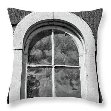 Throw Pillow featuring the photograph Babcock Window 2273 by Guy Whiteley