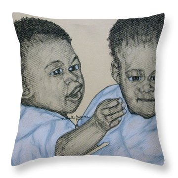 Babies Throw Pillow