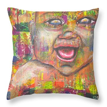 Baby - 1 Throw Pillow