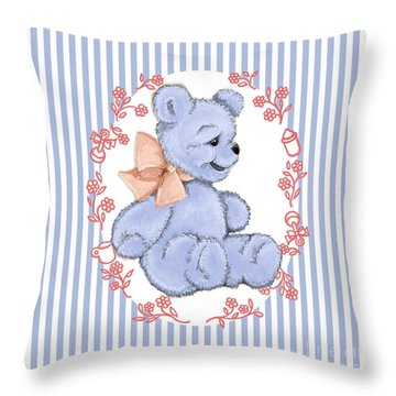 Baby Bear Throw Pillow
