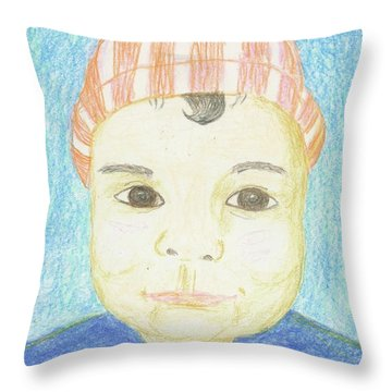 Baby Catherine Throw Pillow