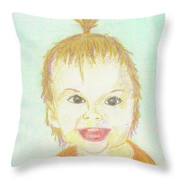 Baby Cupcake Throw Pillow