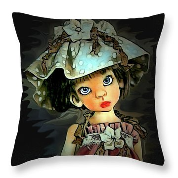 Baby Doll Collection Throw Pillow