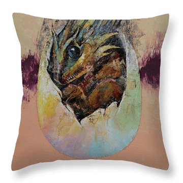 Hatching Throw Pillows