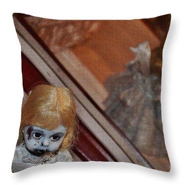 Baby Girl Throw Pillow