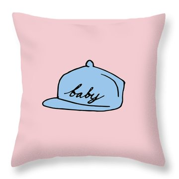 Baby Hat 2 Throw Pillow