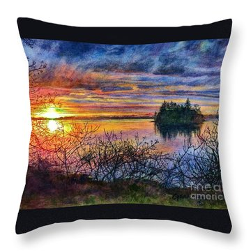 Baby Island Glory Throw Pillow