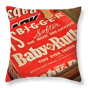 Baby Ruth Throw Pillow