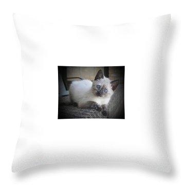 Baby Sweet Pea Throw Pillow