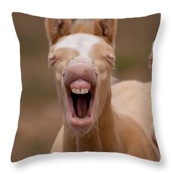 Baby Teeth Throw Pillow