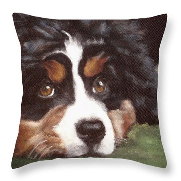 Baby Tess Throw Pillow