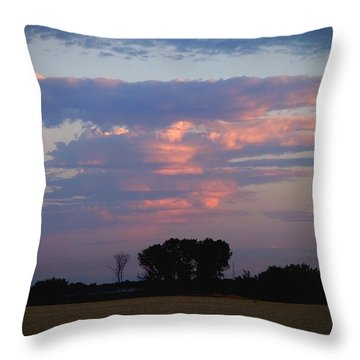 Baby Thunderstorm Throw Pillow