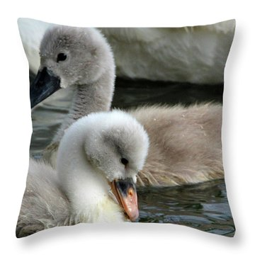 Babys Throw Pillow