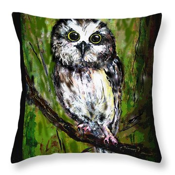 Baby's Eyes Throw Pillow