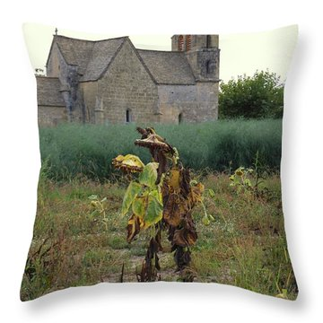 Back From Church Throw Pillow