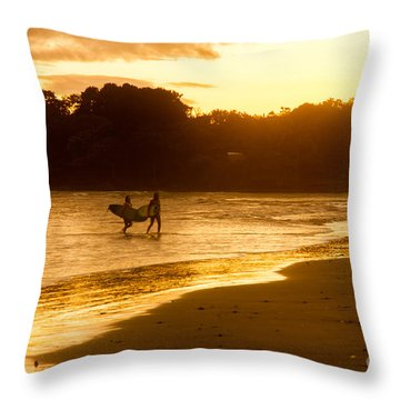 Back Home Throw Pillow by Iris Greenwell